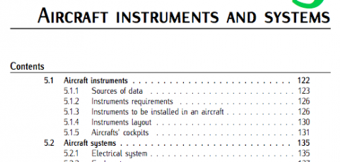 Chap 5 (Aircraft Instruments and Systems). Fundamentals of Aerospace Engineering