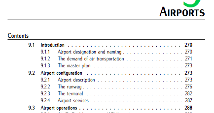 Chap 9 (Airports). Fundamentals of Aerospace Engineering