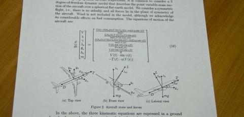 Aircraft trajectory