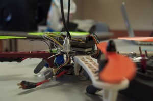 AeroUC3M Lab Quadcopter